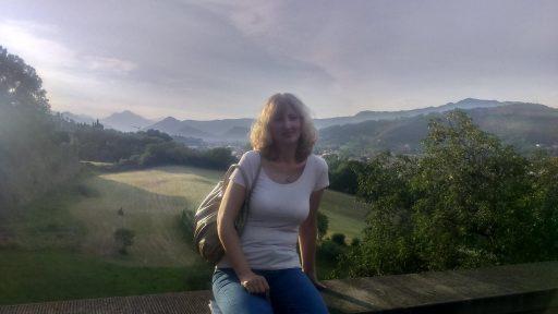 Vesna Mikolič v Lombardiji.