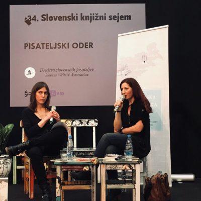 Nina - Pisareljski oder 2018-Nina Dragičević s Petro Kolmančič