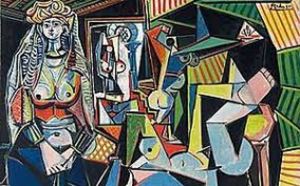 Picasso - Alžirske ženske